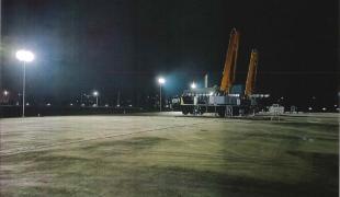 外部車両検査場照明施設設置工事(KATO WORKS様)