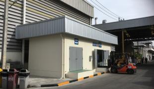 塗料・有機溶剤 保管倉庫新築工事(Kosei Aluminum様)